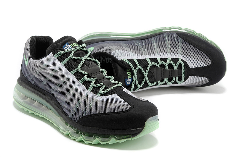 Women Nike Air Max 95 Black Green Shoes