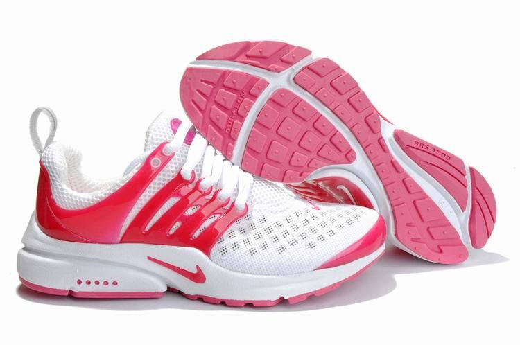 Women Nike Air Presto 2 Carve White Red Shoes With Holes