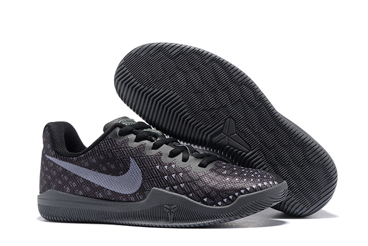 Women Nike Kobe Mentality 3 All Black Shoes