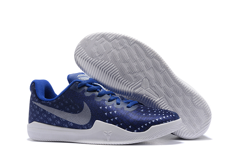Women Nike Kobe Mentality 3 Blue White Shoes