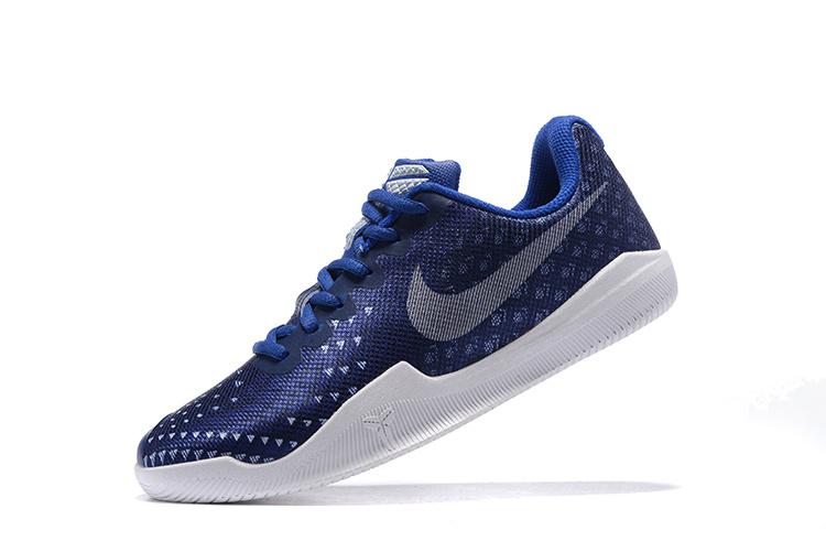 online store 2b7ab d6331 Women Nike Kobe Mentality 3 Blue White Shoes
