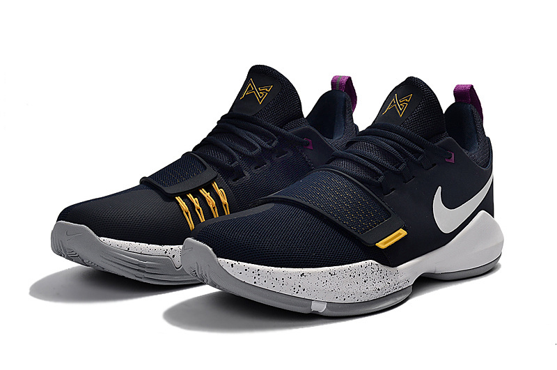 ... usa women nike zoom pg 1 black yellow shoes 56f4f 2fb6c ... 5e2aa932b5