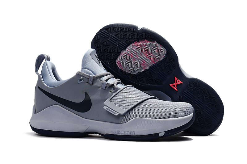 Women Nike Zoom PG 1 Grey Black Shoes