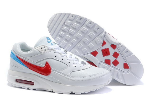 Womens Nike Air Max Classic BW White Blue Red