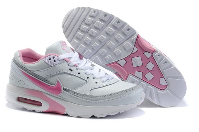 Womens Nike Air Max Classic BW White Grey Pink