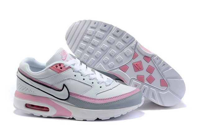 Womens Nike Air Max Classic BW White Pink Grey