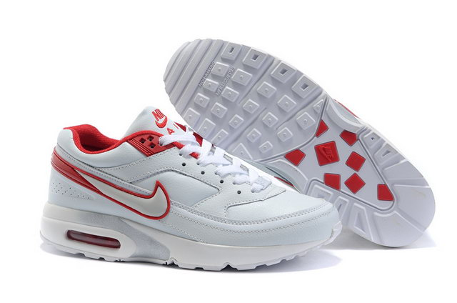 Womens Nike Air Max Classic BW With White Red