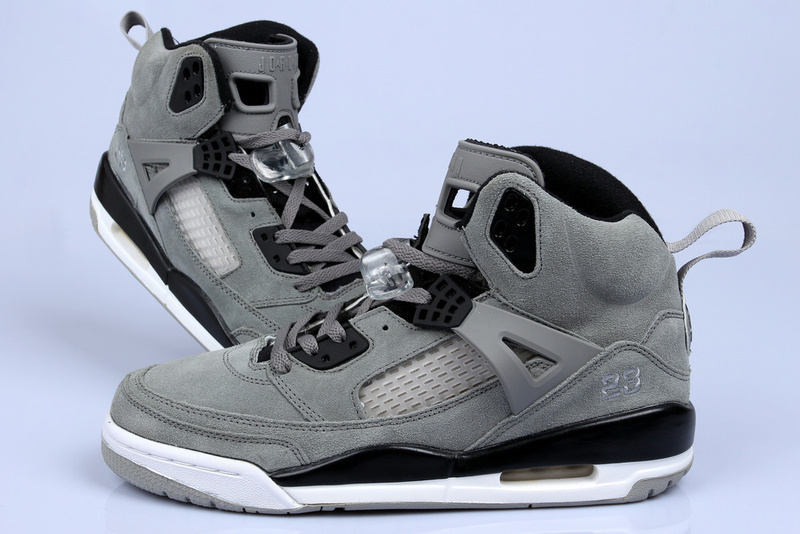 Nike Jordan Spizike Shoes For Women Grey Black White
