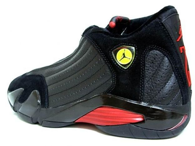 0480f8eac004 nike air jordan 14 og final last shot black varsity red gold shoes ...